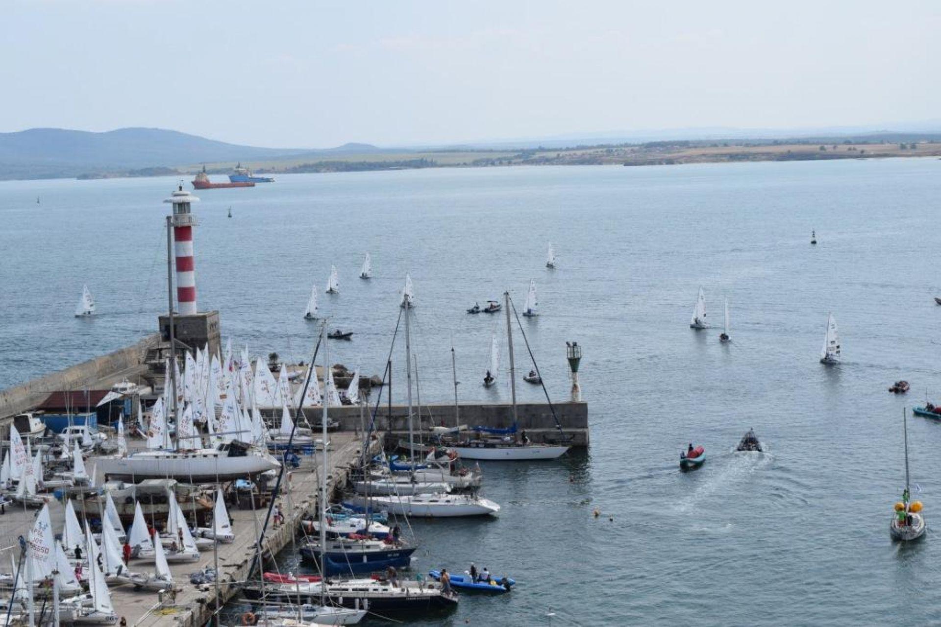 """Международната регатата """"Порт Бургас – Бургаска ветроходна седмица"""" стартира в края на седмицата"""
