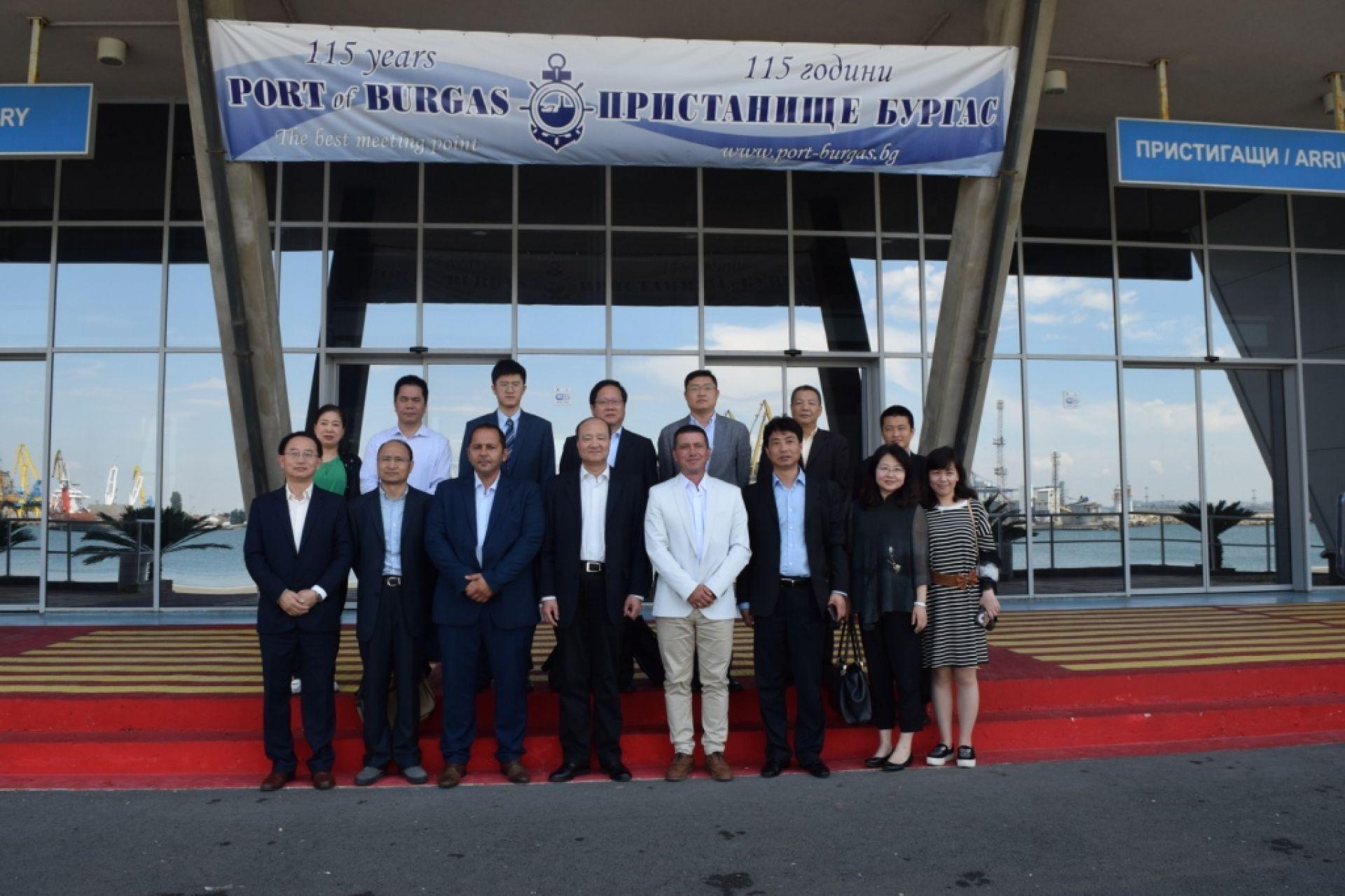 Посещение в България на делегация от Пилотната Китайска (Шанхайска) зона за свободна търговия, КНР - 15.06.2018