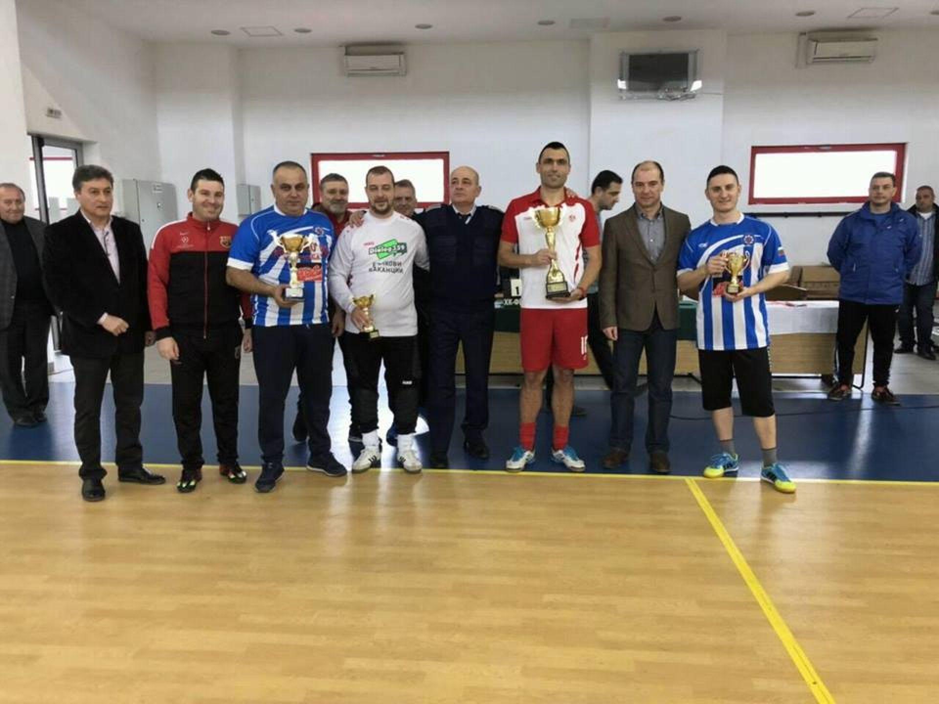 Пристанище Бургас ЕАД участва в благотворителен турнир - 21.01.2019