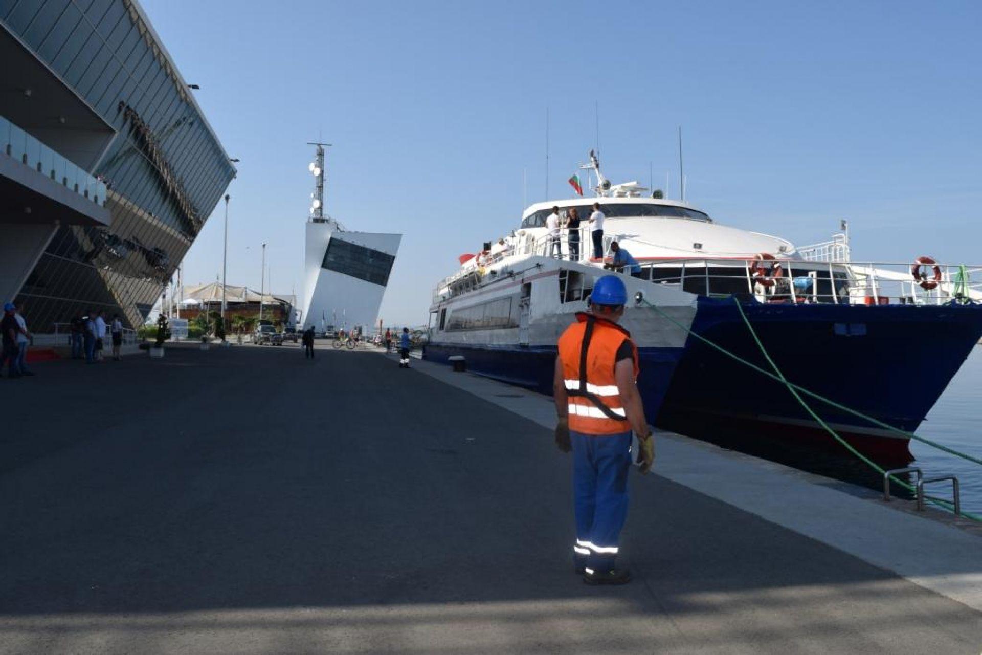 Успешно тестово плаване от Бургас до Инеада - 19.06.2019