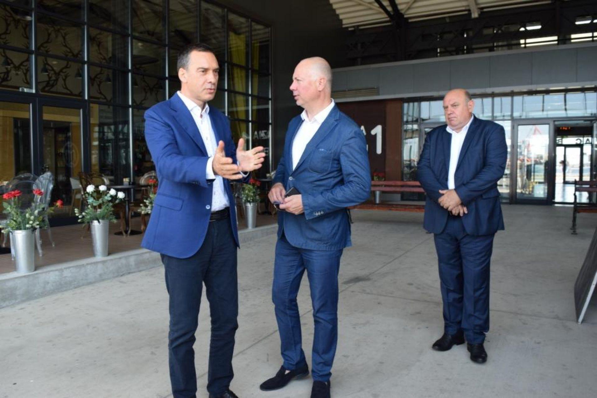Бургас е в готовност да развива крайбрежните плавания с морски таксита - 27.08.2019