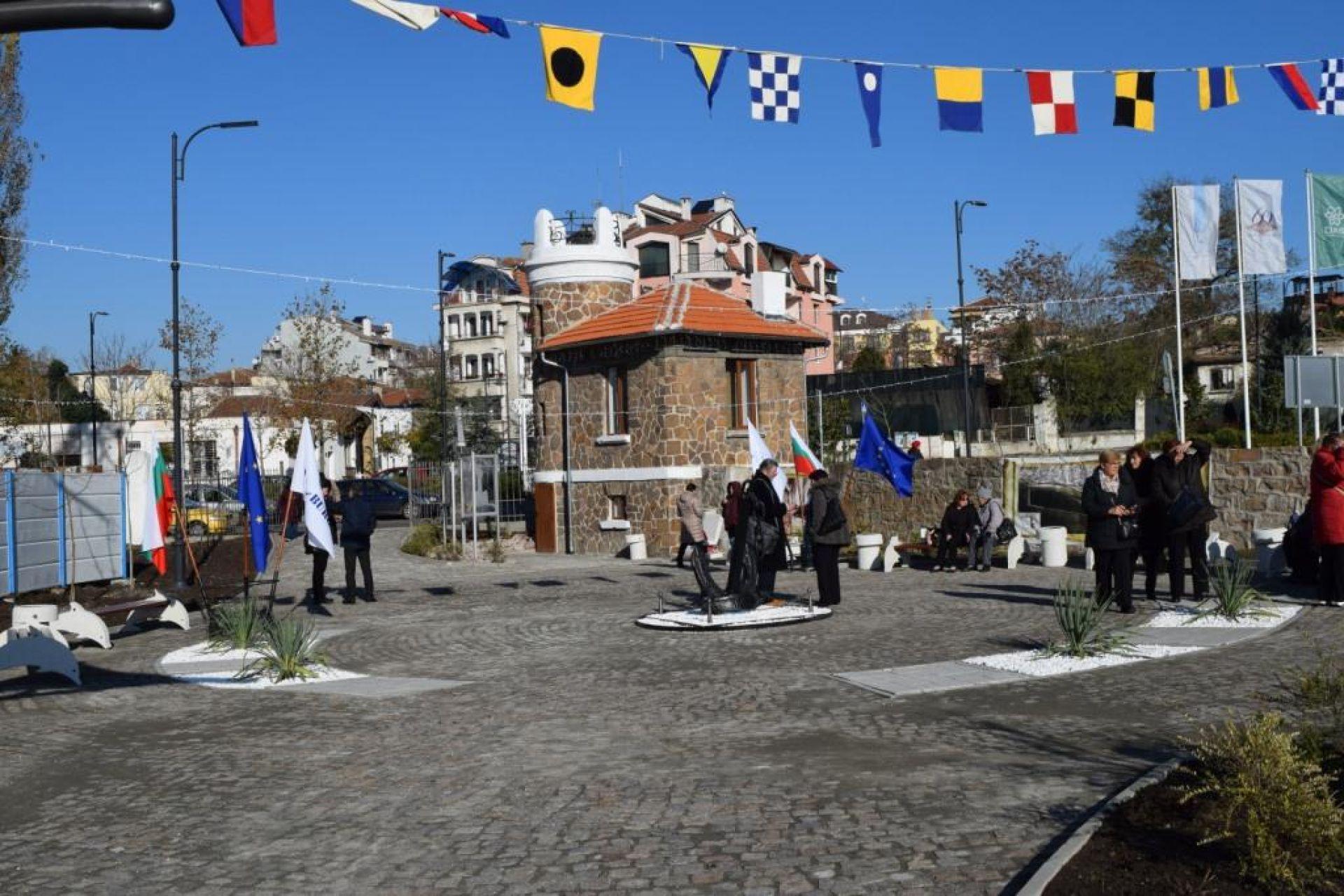 Посетителски център - Кулата на фаропазача - отвори врати за празника на Бургас - 06.12.2019