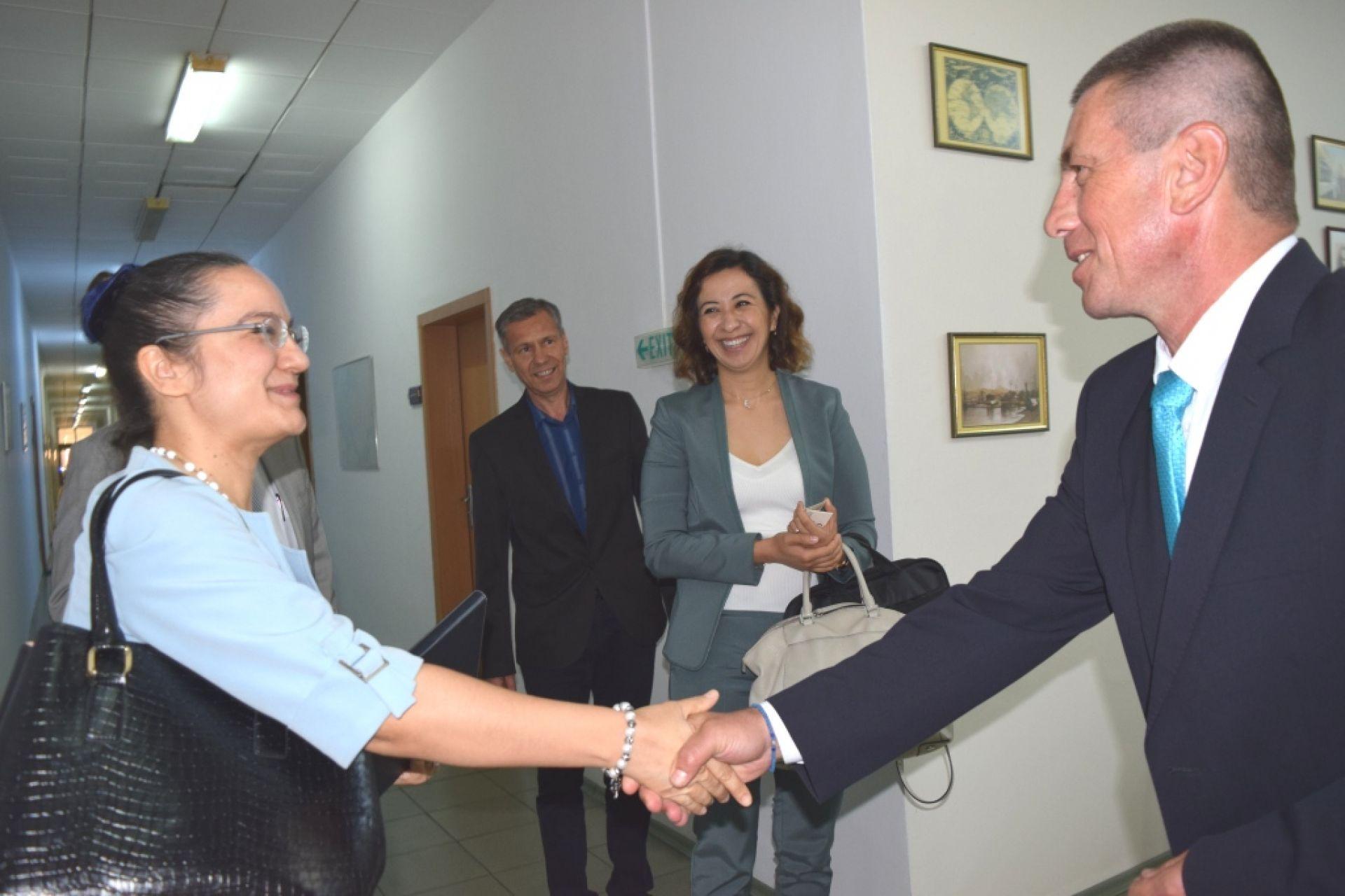 Ръководството на пристанище Бургас се срещна с делегация на Посолството и Генералното консулство на Р Турция - 18.06.2020
