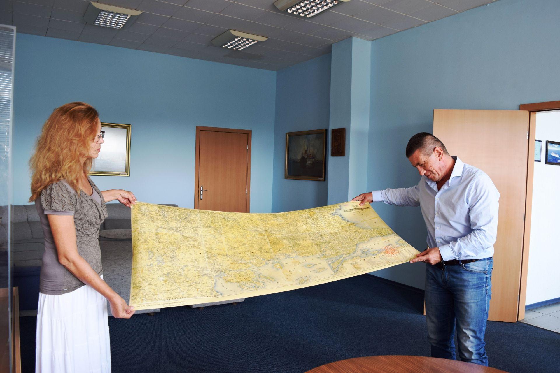 Карти показват геополитическото значение на Бургаското пристанище - 13.10.2020