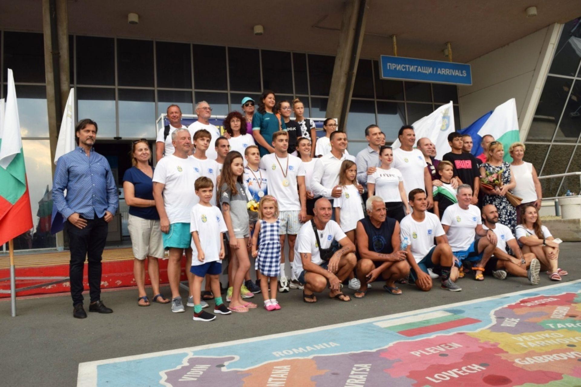 """Впечатляващ първи плувен маратон """"Порт Бургас""""  - 28.08.2021"""