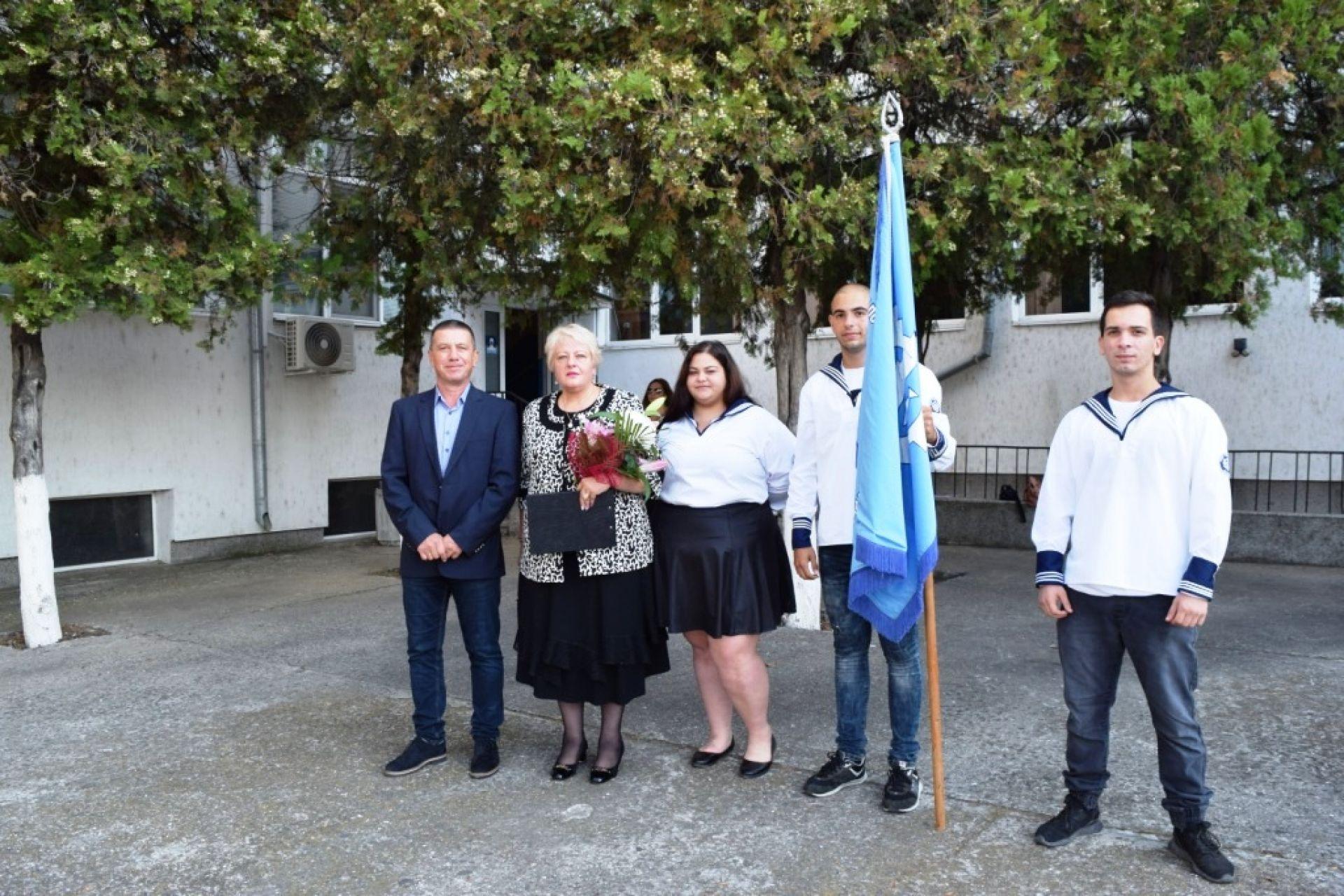 Директорът на бургаското пристанище откри учебната година в Морското училище - 15.09.2021 година