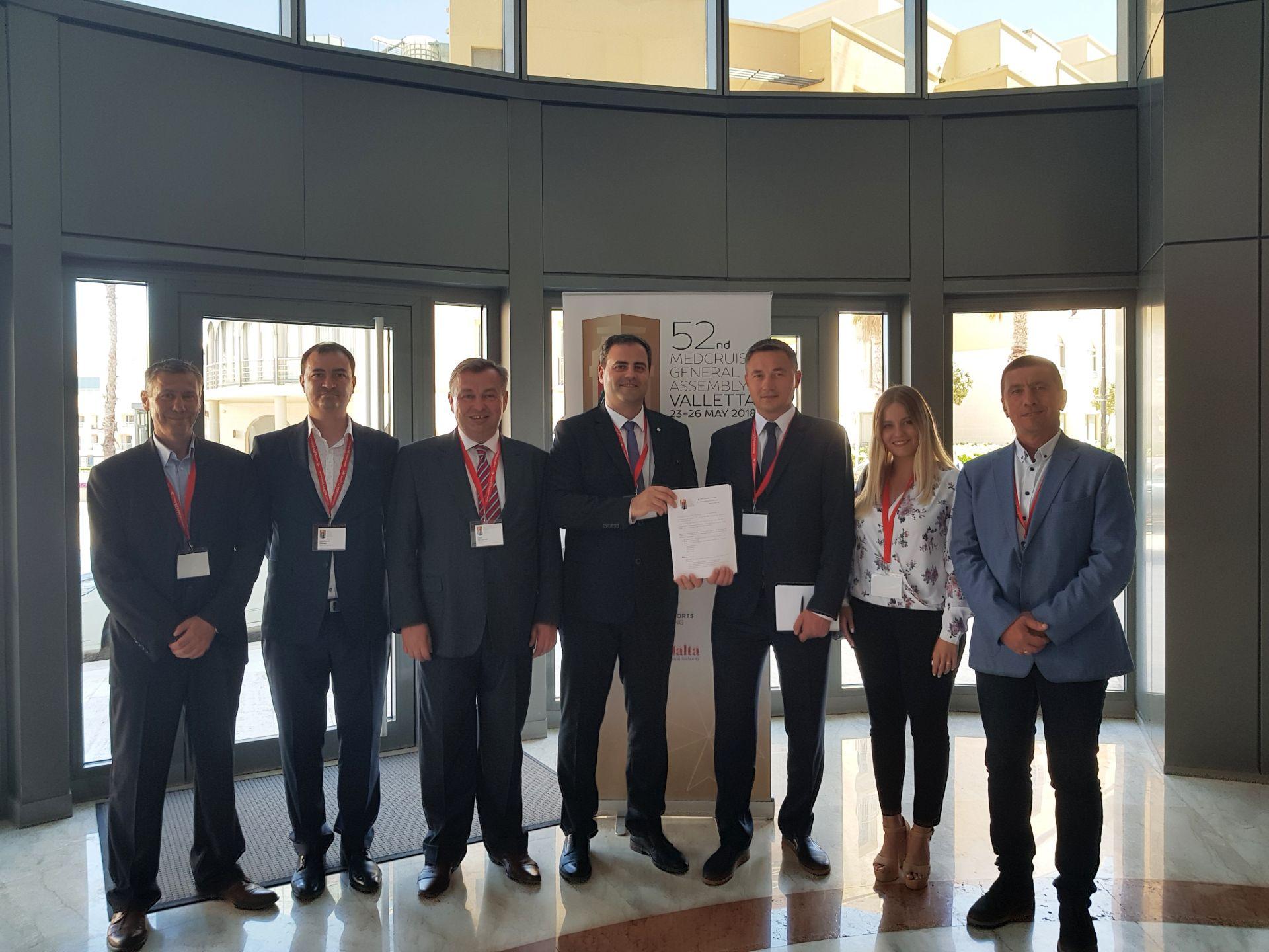 Черноморските круизни пристанища бяха във фокуса на Генералната асамблея на MedCruise - 28.05.2018