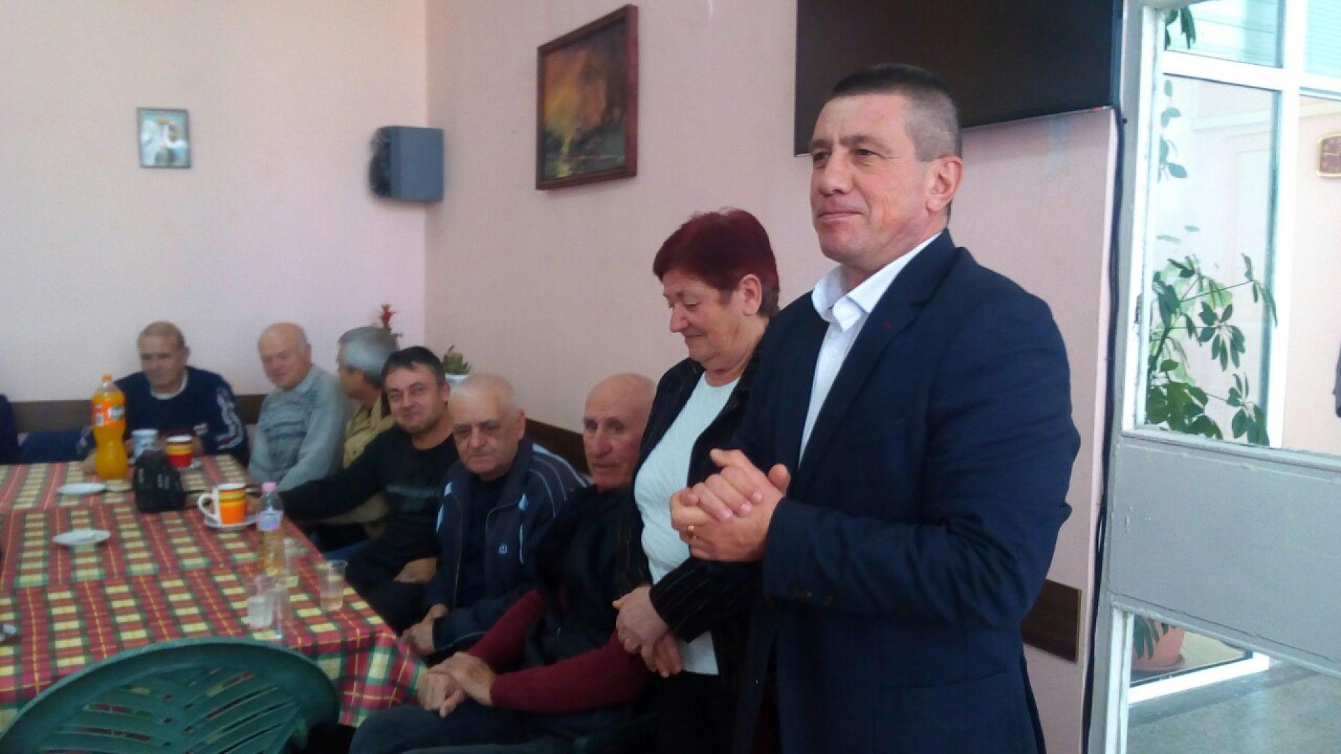 Пенсионерският клуб към пристанище Бургас празнува Бабин ден - 23.01.2019